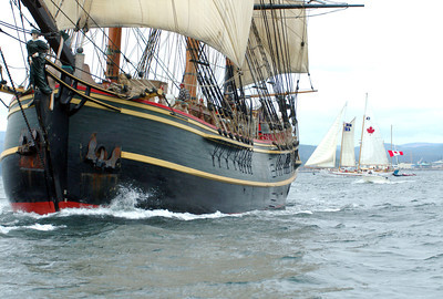 The HMS Bounty *update - The Bounty was lost to Hurricane Sandy today off the North Carolina coast. Oct. 29, 2012.